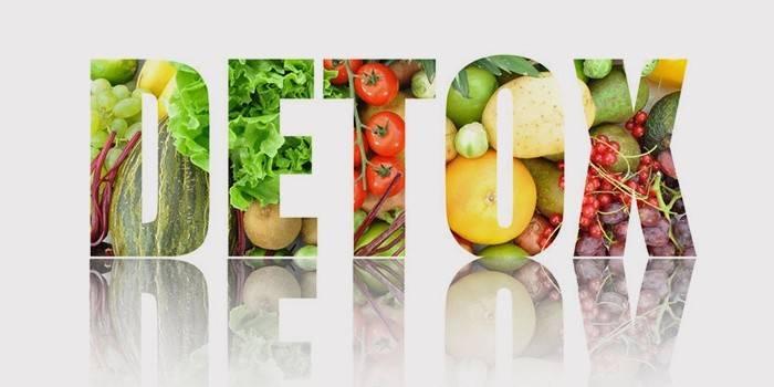 Детокс дієта для очищення організму: меню на 3, 7 і 10 днів
