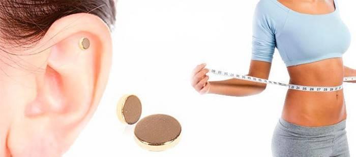 Магніт для схуднення на вухо: як носити сережки Слім Кліпс