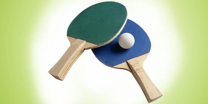 Ракетки для настільного тенісу: яка краще, відгуки