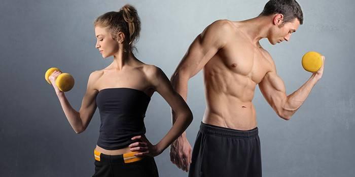 Вправа для схуднення рук в домашніх умовах або на тренажерах для жінок і чоловіків
