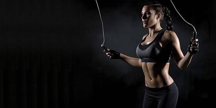 Чи можна схуднути за допомогою скакалки - як правильно стрибати, комплекси вправ, користь і результати