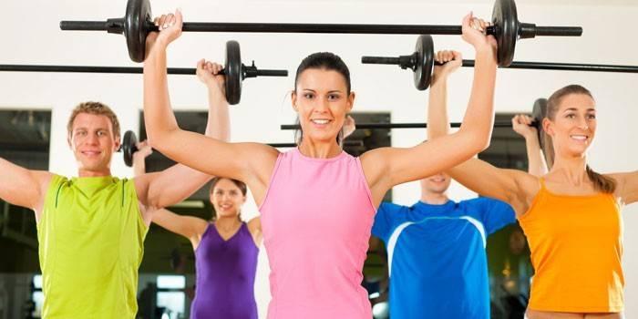 Upper body - фітнес-тренування і заняття, відео
