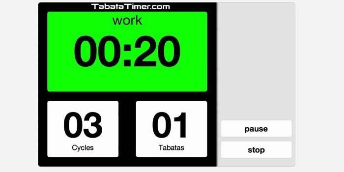Протокол табата - система тренувань для схуднення, вправи для початківців з відео