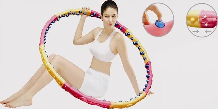 Вправи з обручем для схуднення живота: як крутити і який вибрати