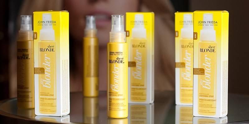 Освітлюючий спрей для волосся - правила використання та застереження