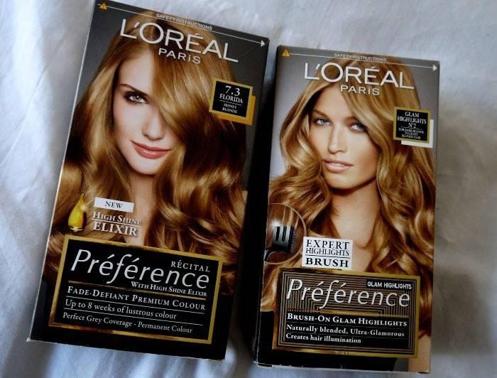 Фарба для волосся Лореаль Преферанс - палітра відтінків квітів (фото і відгуки)