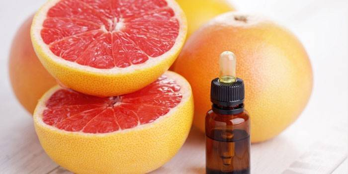 Масло грейпфрута для особи - приготування масок в домашніх умовах