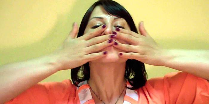 Вправи для обличчя від носогубних складок - огляд кращих методик