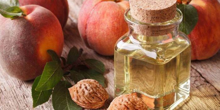 Персикове масло для шкіри навколо очей - як правильно використовувати