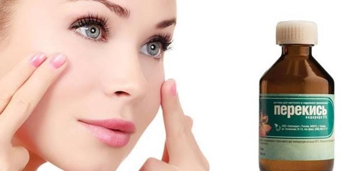 Перекис водню для особи - лікувальні властивості, рецепти відбілюючих, очищувальних і омолоджуючих масок