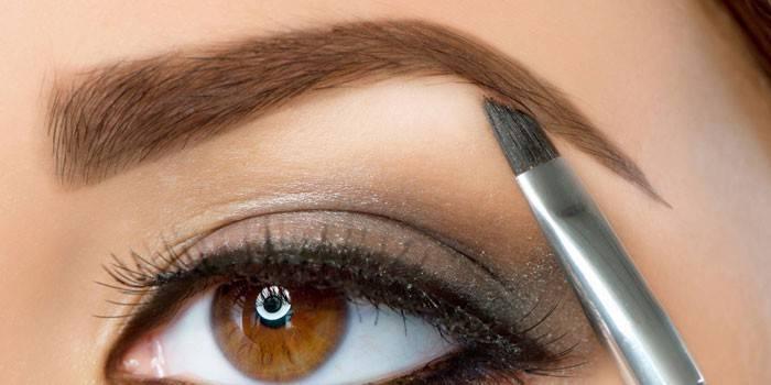 Корекція брів в домашніх умовах і салоні татуажем, хною або ниткою з фото до і після процедури