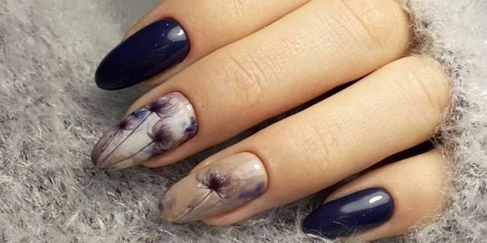 Манікюр на овальні нігті - новинки 2019 року з фото