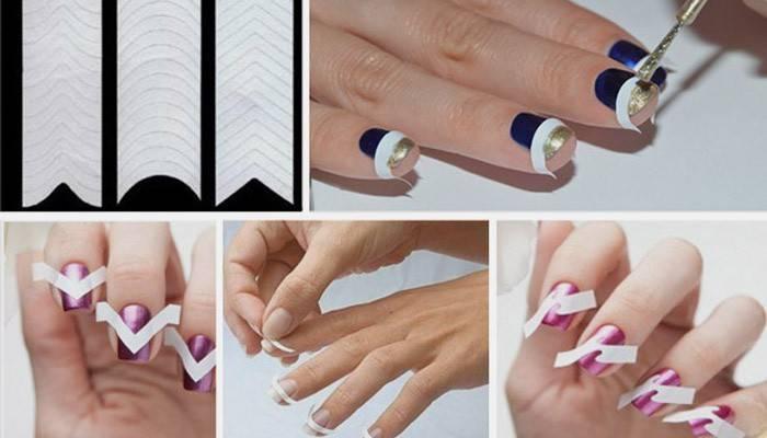 Трафарети для нігтів: як користуватися вініловими, для аерографії і стемпинга