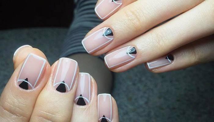 Прості малюнки на нігтях покроково, відео