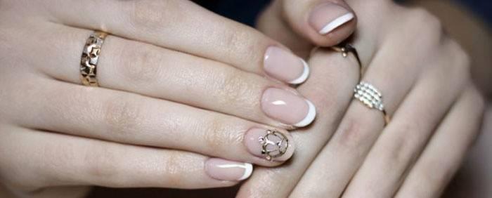 Манікюр з короною: ідеї дизайну на нігтях, техніка виконання з фото і відео