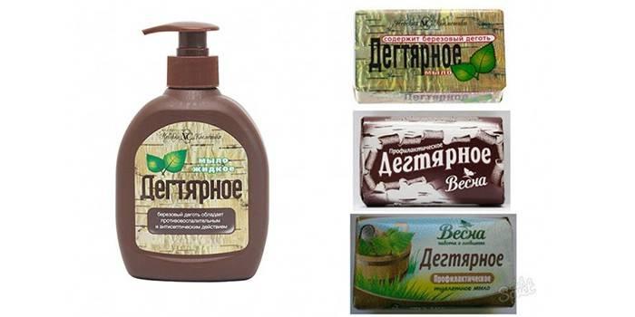 Дігтярне мило - лікувальні властивості, використання в народних рецептах, для волосся і шкіри