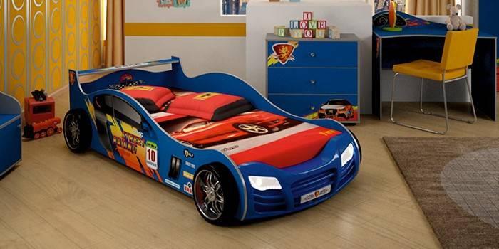 Дитячі ліжка для хлопчиків - огляд популярних моделей від найкращих виробників з фото і відгуками