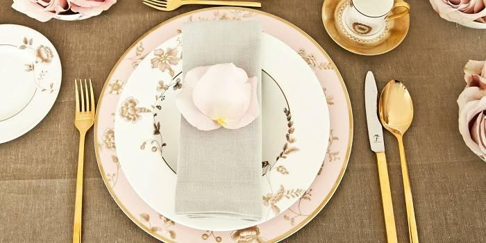 Сервірування столу - як правильно вибрати посуд і столові прилади, схема розташування і оформлення