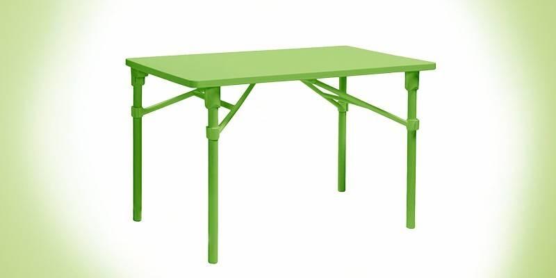 Розкладний столик - як зробити своїми руками з дерева, на коліщатках, для дачі або туристичний