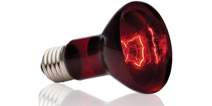 Інфрачервона лампа - принцип роботи, області застосування і види приладів для обігріву