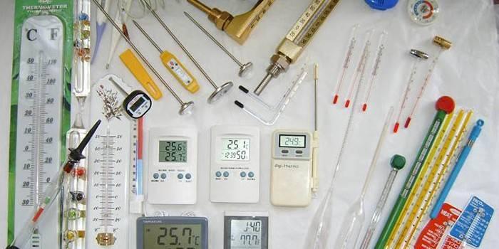 Термометр для води - види і ціни вимірювачів з фото