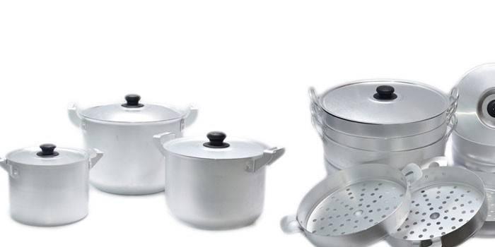 Алюмінієвий посуд - переваги і недоліки, правила використання, приготування та зберігання їжі