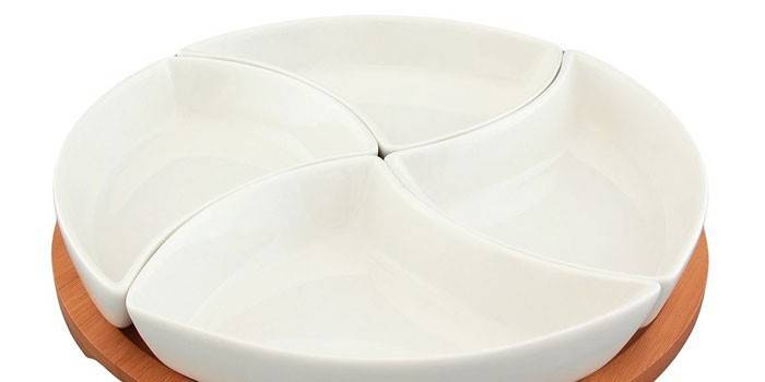 Менажниця - що це: як вибрати посуд для подавання страв