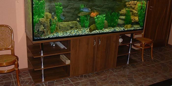 Тумба під акваріум - огляд кращих готових підставок з описом і цінами