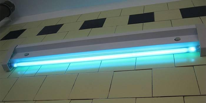 Бактерицидна лампа - принцип роботи ультрафіолетових кварцових опромінювачів, огляд кращих моделей
