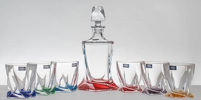 Богемське скло та кришталь - огляд кращих моделей посуду, світильників і прикрас з відгуками та фото