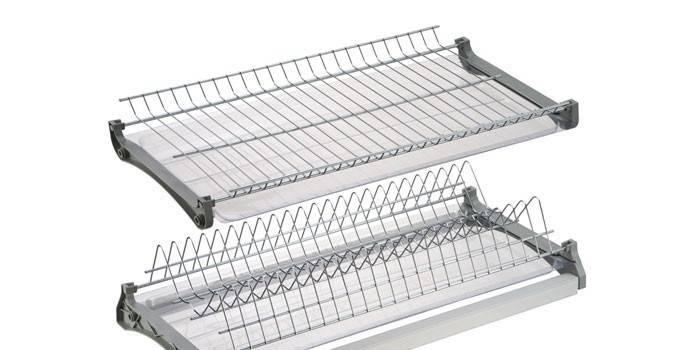 Сушка для посуду - як вибрати за розмірами і функціональністю, рейтинг провідних брендів з цінами