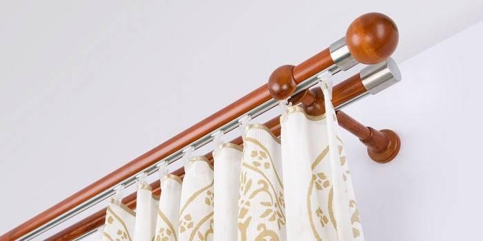 Карнизи для штор - рейтинг стельових, настінних і декаротивных моделей для інтер'єрів