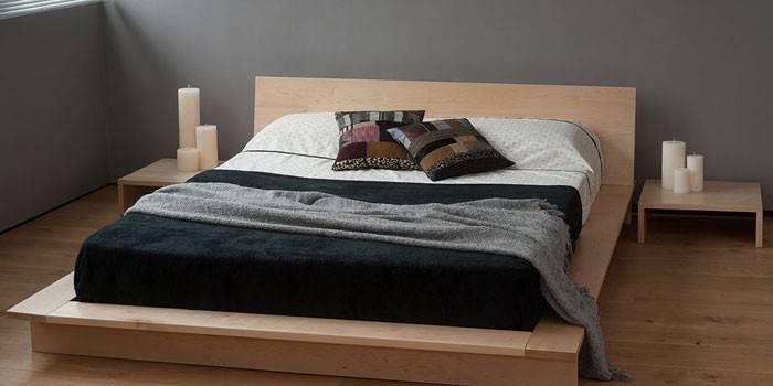 Двоспальне ліжко своїми руками з масиву або ДСП - інструкція по виготовленню головах і каркаса