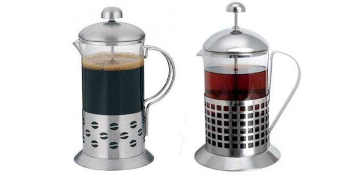 Френч-прес для кави та чаю - як вибрати найкращий і як заварювати напої