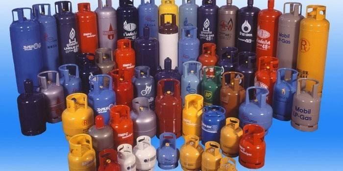 Газові балони для дачі - підключення і установка
