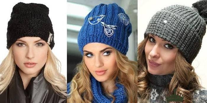 Модні зимові шапки для жінок сезону 2019