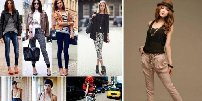 Укорочені брюки - огляд трендових моделей та ідеї стильних образів з фото