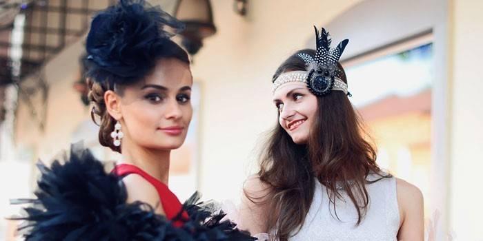Стиль Гетсбі - відмітні особливості жіночих суконь та чоловічих костюмів, взуття та прикрас