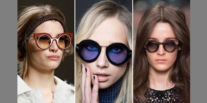 Круглі окуляри - як вибрати для чоловіка або жінки з діоптріями чи сонцезахисні з цінами