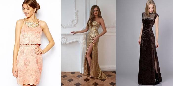 Плаття для зустрічі Нового року Кабана - огляд стильних нарядів