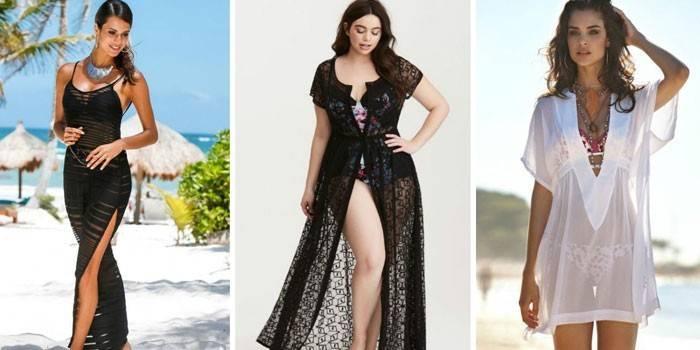 Літні пляжні сукні для жінок