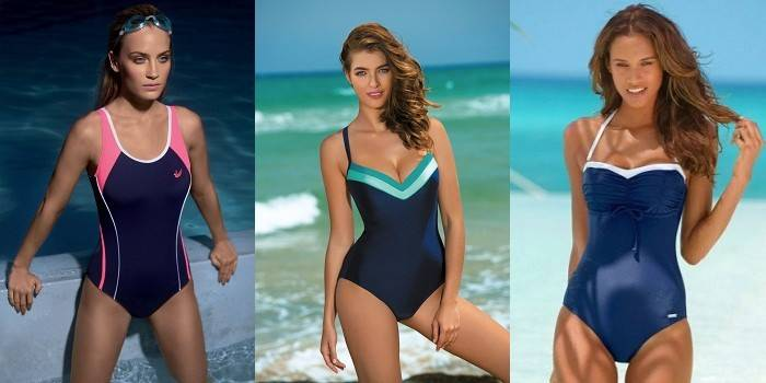 Закриті купальники для пляжу і басейну, огляд популярних моделей і забарвлень з фото і цінами