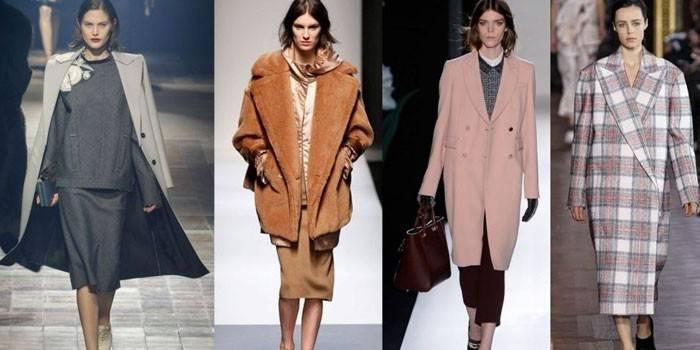 Модні пальто 2017-2018 року для дівчат і жінок - як вибрати модель