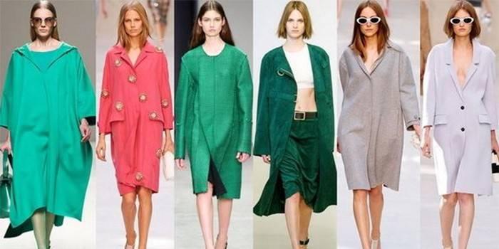 Літнє пальто - огляд моделей з шовку, льону, бавовни, жаккарда або мережива з описом, цінами та фото