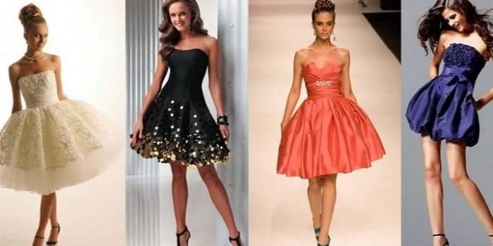 Коктейльні сукні для жінок і дівчат - огляд стильних і модних фасонів з описом і цінами