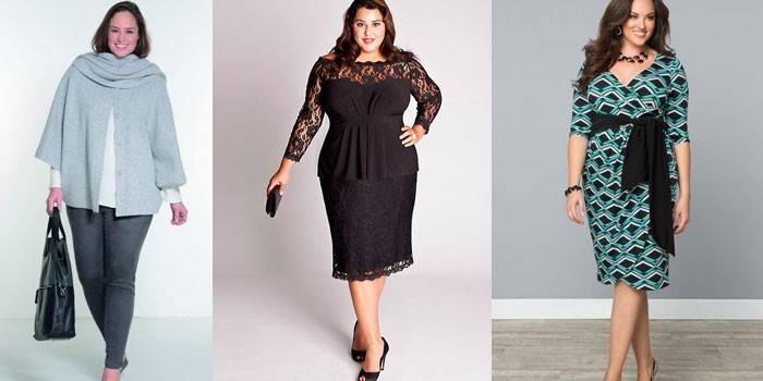 Мода для повних жінок: стильні фасони з фото