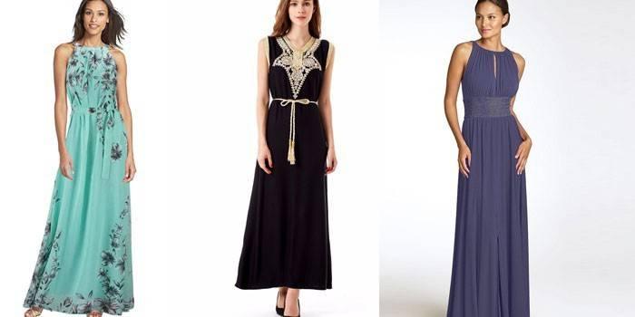 Довгі літні сукні 2019 - красиві модні фасони сезону, фото