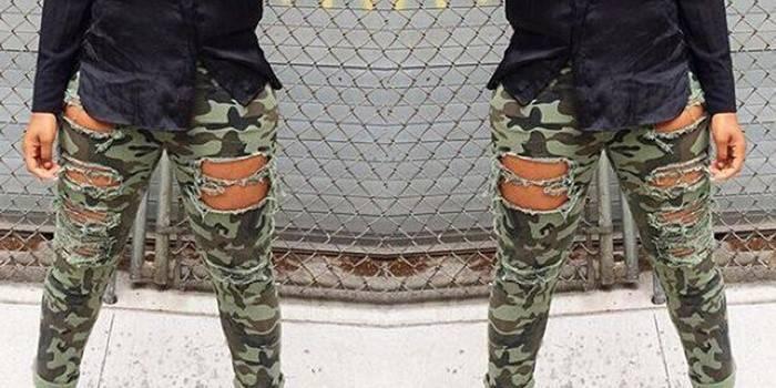 Камуфляжні жіночі штани - стильний акцент дизайнерських колекцій