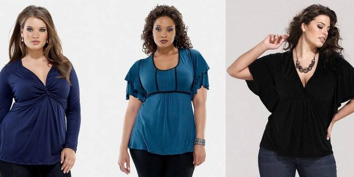 Блузки для повних жінок, які їх стройнят: добірка фасонів, що дозволяють виглядати красиво