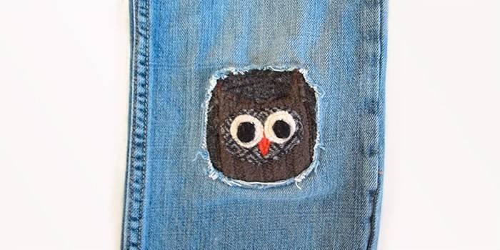 Як красиво зашити дірку на джинсах своїми руками - кращі способи